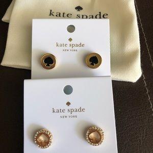 """❗️BUNDLE❗️Kate Spade """"Spot the Spade"""" Earrings"""